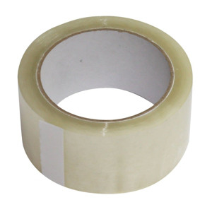 Premium-Packband Acryl transparent 50mm x 66m LOW NOISE leise abrollend